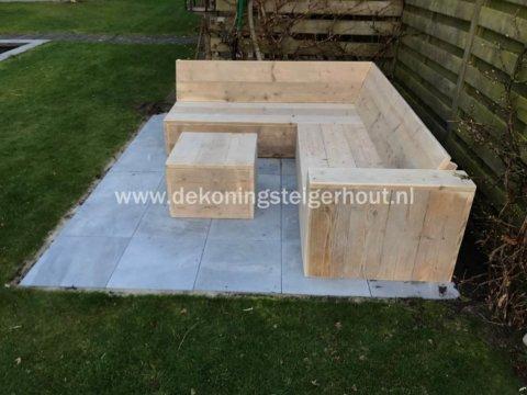 Steigerhout Hoekbank Elvas